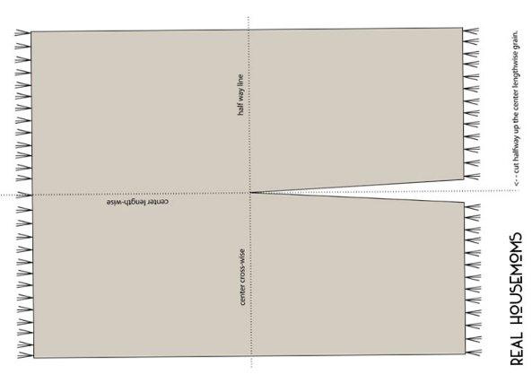 poncho manta rectangular, como hacer un poncho manta