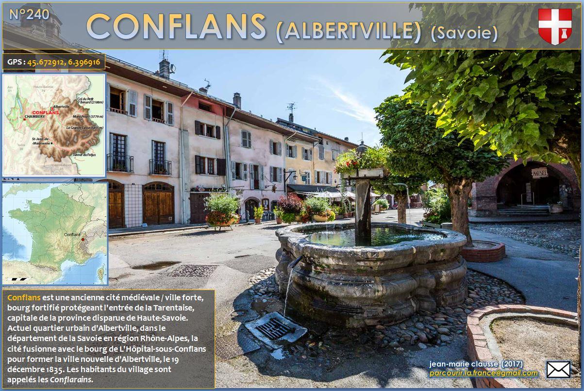 Parcourir la france 240 conflans albertville for Piscine de conflans
