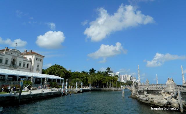Atracadouro da Villa Vizcaya, Miami