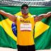 Brasileiro bate próprio recorde e é bicampeão paralímpico no lançamento de disco