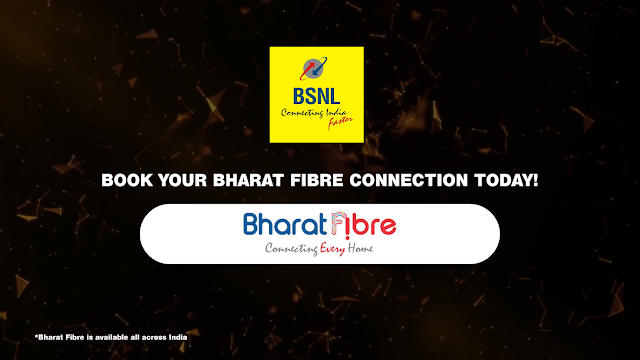 BSNL Employees & Retired Employees to get 40% discount for Bharat Fiber (FTTH) / Bharat Air Fibre (BAF) connections