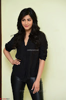Shruti Haasan Looks Stunning trendy cool in Black relaxed Shirt and Tight Leather Pants ~ .com Exclusive Pics 033.jpg