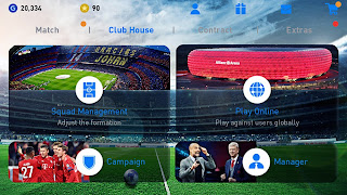 PES 2019 Mobile Android New Graphics Menu,Kits Update