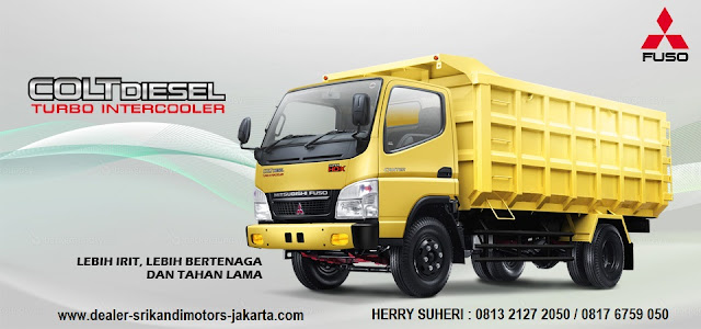 kredit mobil dump truck colt diesel 2018