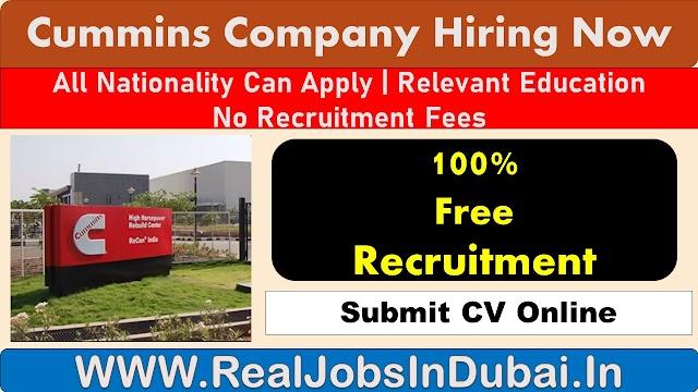 Cummins Jobs Vacancies In UK & USA.