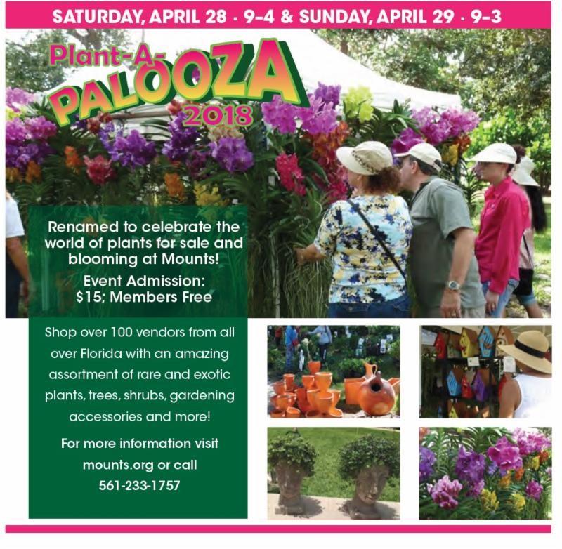Lynn\'s little bit of trivia : Mounts Botanical Gardens Plant-A-Palooza