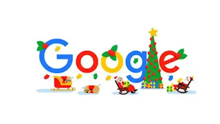 The Cheapest Way To Earn Your Free Ticket To Merry Christmas: Google Wishes Happy Holidays And Merry Christmas With An Animated Google Doodle.