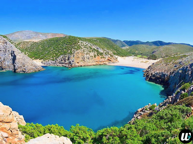 Cala Domestica beach, Buggerru | Sardinia, Italy | wayamaya