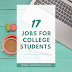 17 Jobs for College Students