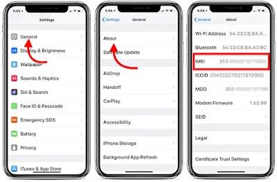 Pastikan IMEI iPhone Sesuai