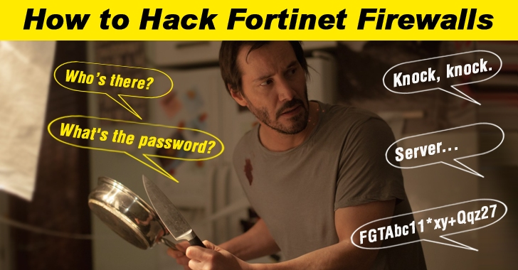 Someone Just Leaked a Hard-Coded SSH Password Backdoor in Fortinet Firewalls
