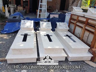 Kijing Kuburan Kristen, Model Kijing Makam Kristen Terbaru, Jual Makam Kristen Marmer