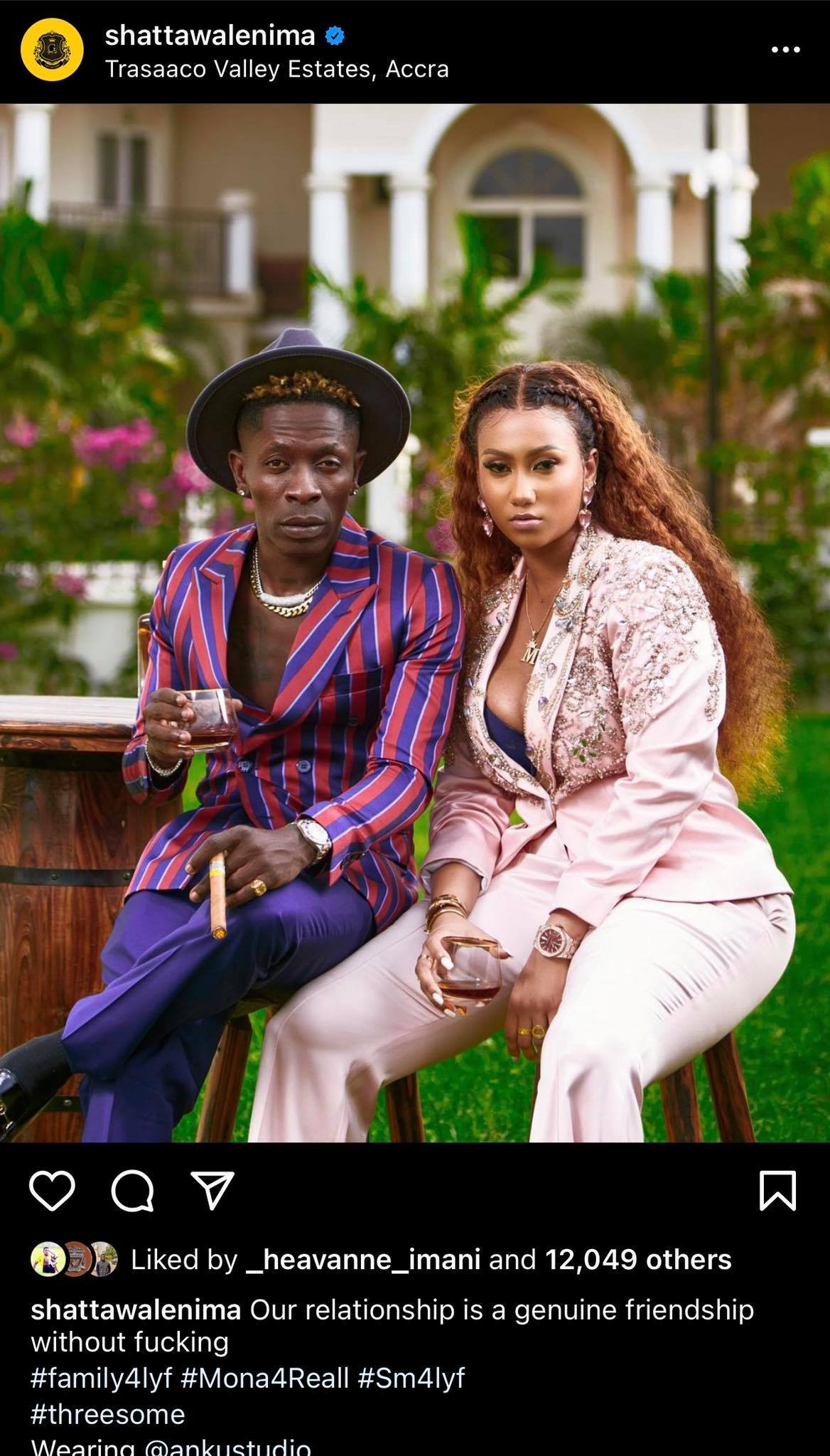 shatta wale and hajia4real