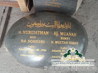 Model Nisan Kuburan Batu Kali, Model Nisan Batu Kali, Jual Nisan Batu Alam