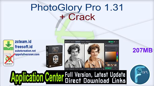 PhotoGlory Pro 1.31 + Crack