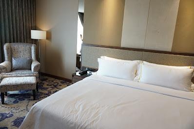 tempat tidur hotel arista yang nyaman