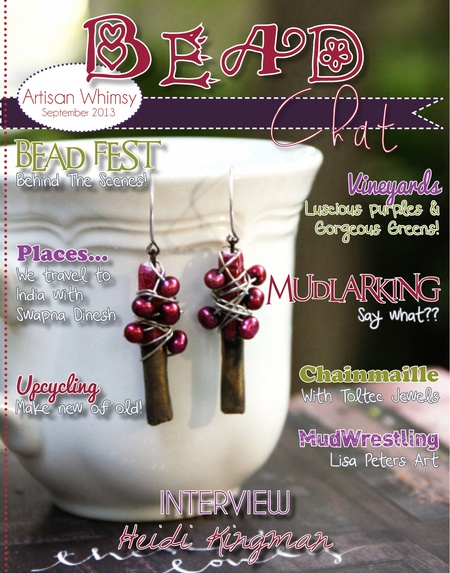 Bead Chat Magazine, September 2013 edition :: All Pretty Things