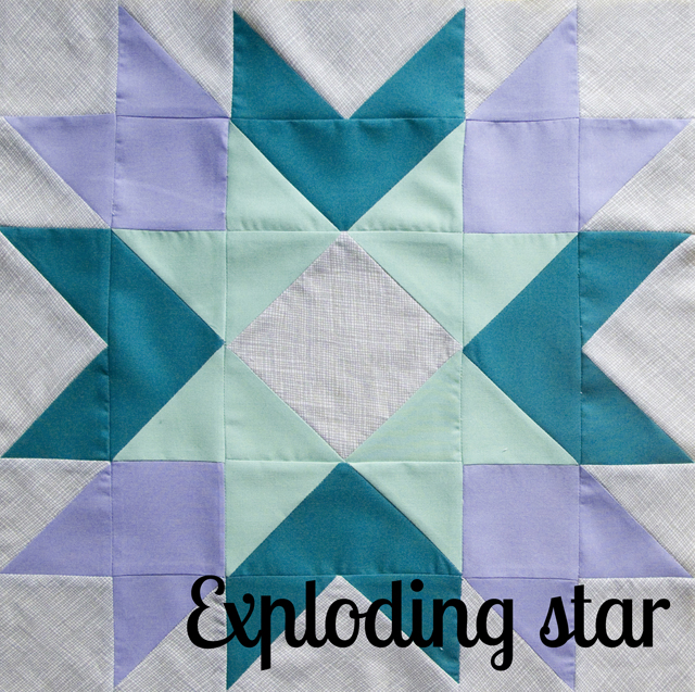 Star Block of the Month at The Village Haberdashery