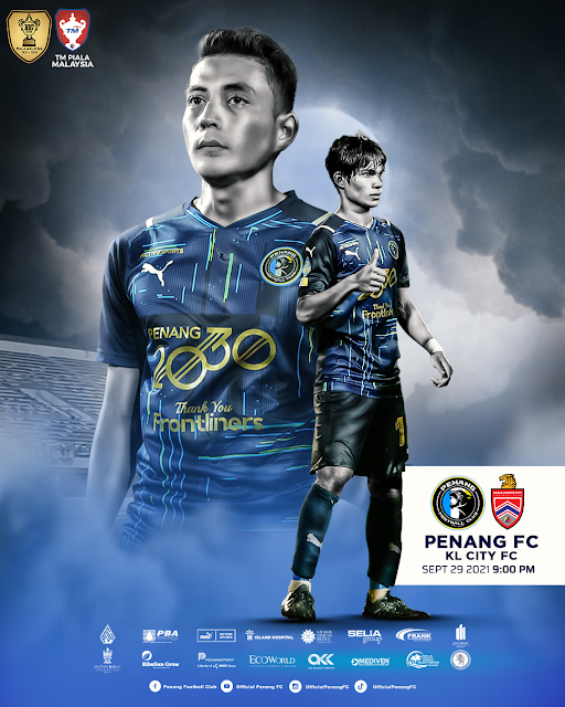 Siaran Langsung Penang vs KL City 29.9.2021