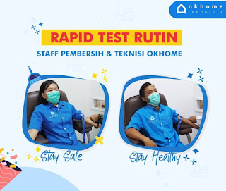 Staff OKHOME rutin rapid test