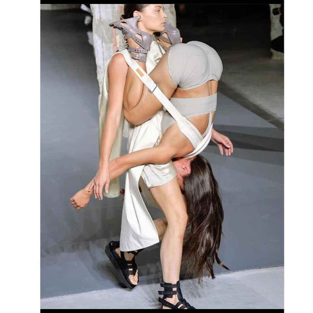 Check out the pictures of the New Fashion Trend (Paris Runway Edition) that got people talking about