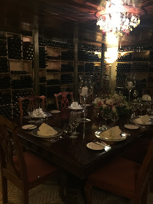 Graycliff Wine Cellar Private Dining Room - curiousadventurer.blogspot.com