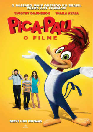 Woody Woodpecker 2017 WEB-DL 700MB English 720p Watch Online Full Movie Download Worldfree4u 9xmovies