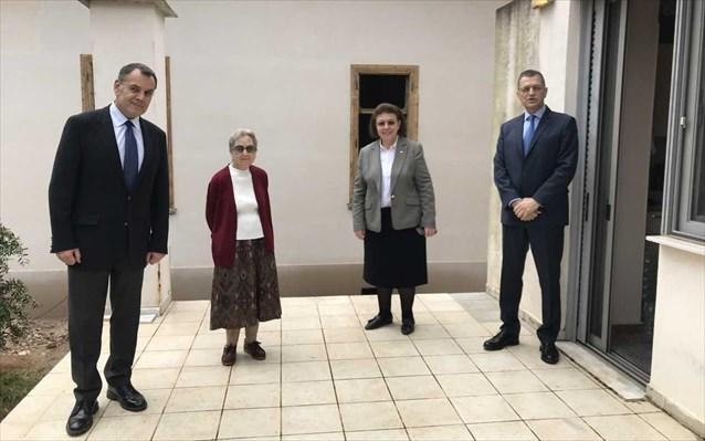 O ΥΦΕΘΑ σε ρόλο πολιτικού μηχανικού-Επίβλεψη στην αναστήλωση της κατοικίας Παύλου Μελά