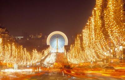 Champs Élysées karácsonykor