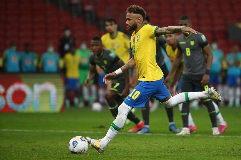 موعد مباراة البرازيل والإكوادور اليوم