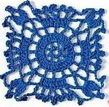 Patrón #1189: Granny a Crochet