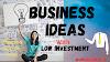 Business Ideas In Hindi With Low Investment.| कम पैसो में आप यह बिज़नेस शुरू कर सकते है।