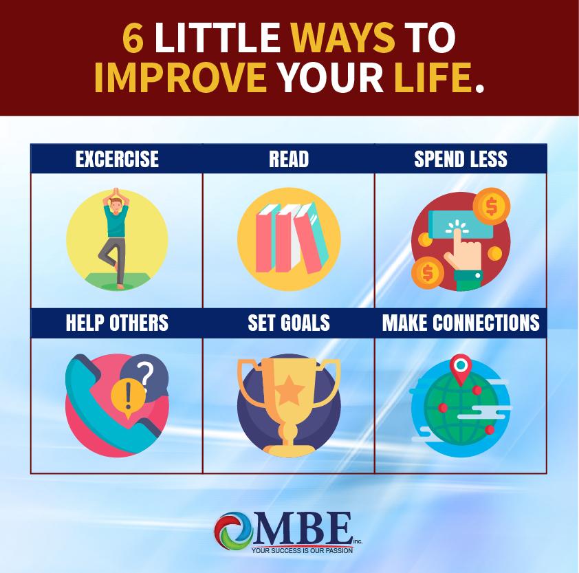 6 ways to improve your Life