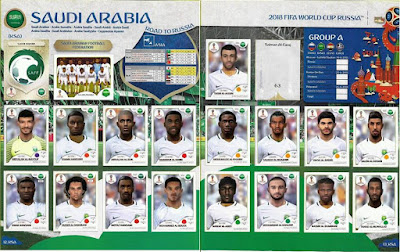 PES 6 Facepack Saudi Arabia National Football Team World Cup 2018