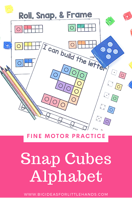 https://www.teacherspayteachers.com/Product/Ten-Frames-Activities-and-Games-Letters-Bundle-4680730?utm_source=BIFLH%20Blog&utm_campaign=Alpha%20Fine%20Motor%20Snap%20Cube