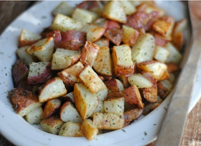 Oven Roasted Red Potatoes #healthy
