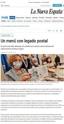 matasellos, Oviedo, Desarme, sello