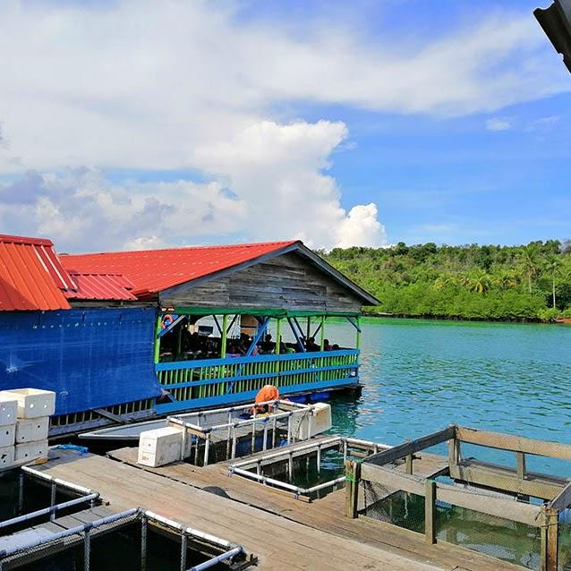 Kulineran di Restoran Sea Food Jawa Melayu Tanjung Piayu Batam
