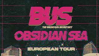 BUS European tour 2019 with Obsidian Sea