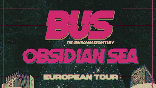 [News] BUS European tour 2019 w/ Obsidian Sea