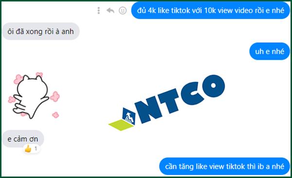tang luot like tiktok