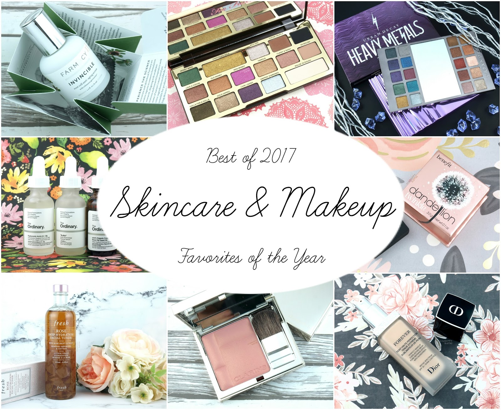 Best of 2017 | Skincare & Makeup Favorites of the Year