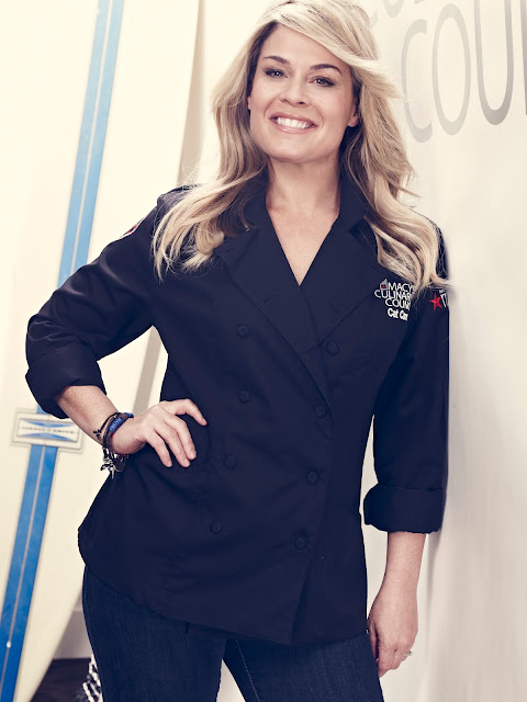 Chef Cat Cora Culinary Council Macy's Union Square San Francisco Event