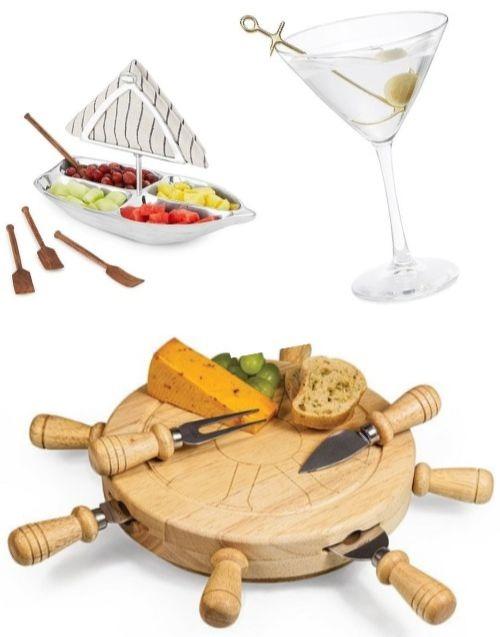 Nautical Sheep Wheel Cheese Board