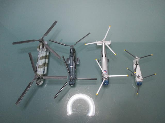 1/144 Piasecki Vertol Boeing HUP-2 H-21 CH-46 CH-47 diecast metal aircraft miniature