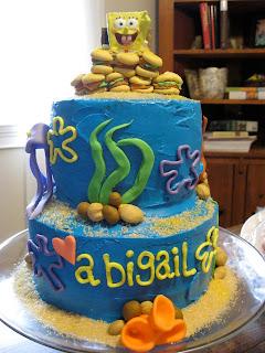 Jessica Alvey Cakes Happy First Birthday Abigail Lillian