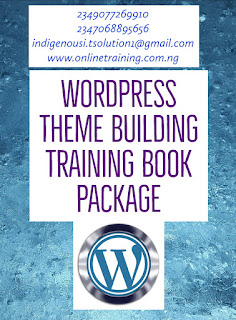 Wordpress Theme Building Training For Nigeria