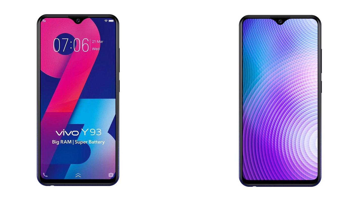 Perbedaan dan Harga HP Vivo Y93 vs Vivo Y91 Terbaru 2019
