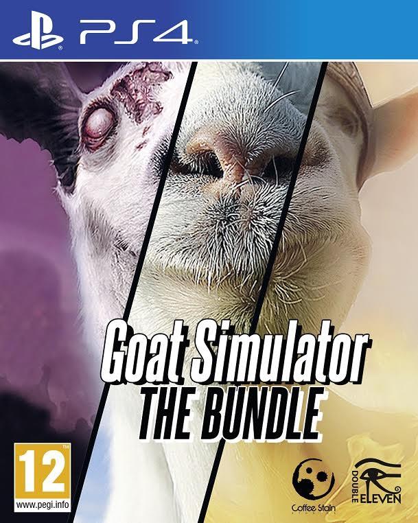 Goat Simulator: The Bundle llegará a PS4 el 18 de noviembre