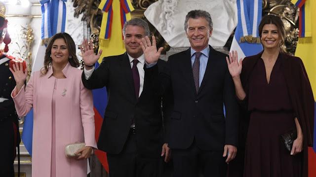 Duque destacó el liderazgo regional de Macri y agradeció el apoyo de Argentina en la lucha contra el régimen de Venezuela